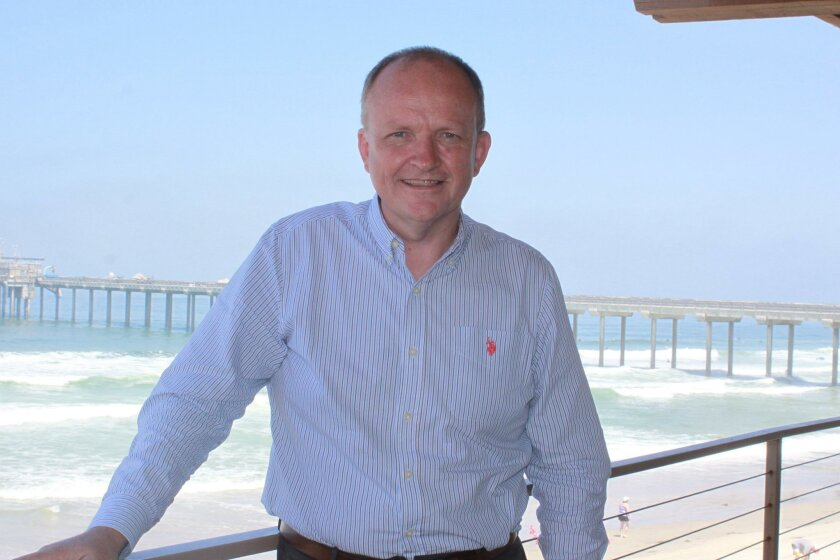Steven Gallagher is the new assistant vice chancellor of marine sciences at Scripps Institution of Oceanography.