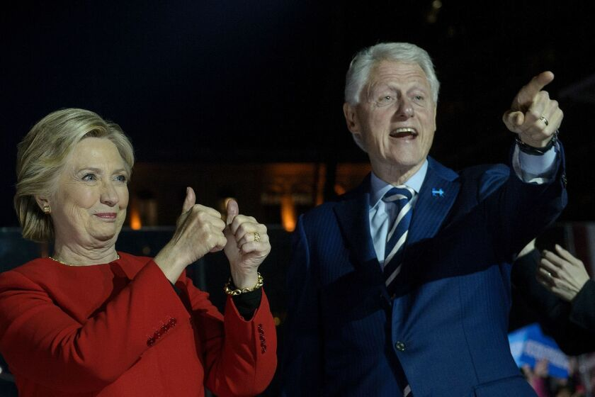 Bill and Hillary Clinton are taking the show on the road.