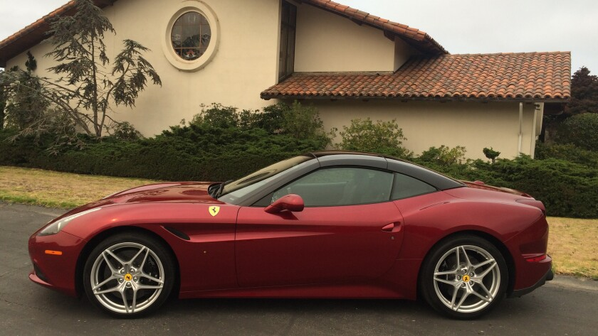 Driving The 2017 Ferrari California T Hs Los Angeles Times