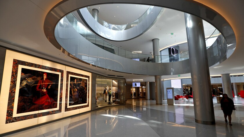 The Beverly Center was built in 1982 and has undergone a $500 million renovation.