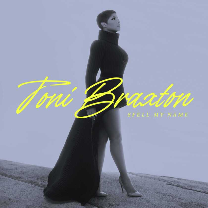 """This cover image released by Island Records shows """"Spell My Name,"""" by Toni Braxton. The album was named one of the top 10 of the year by the Associated Press. (Island via AP)"""