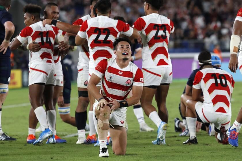 Japan Rugby WCup Japan Scotland
