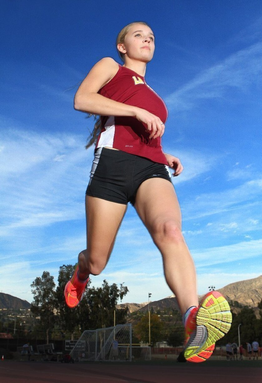 Anna Frederich was second to none for La Cañada High cross-country