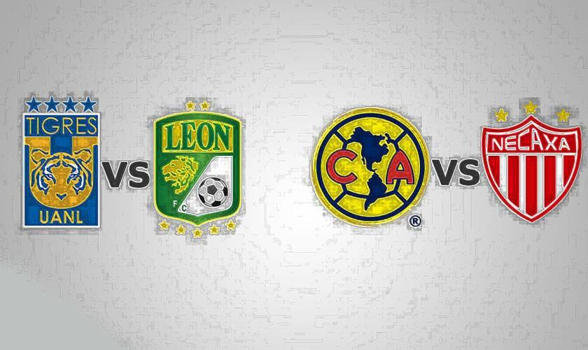 Las semifinales de la Liguilla del Torneo Apertura 2016 del futbol mexicano.