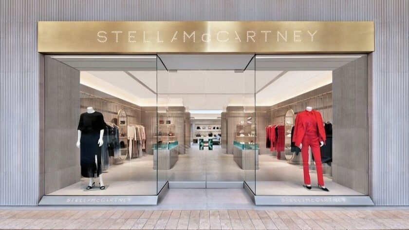 The new Stella McCartney store in South Coast Plaza is one of a number of new boutiques and revamps