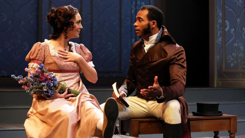 """South Coast Repertory presents """"Sense and Sensibility"""" by Jane Austen, adapted by Jessica Swale,"""