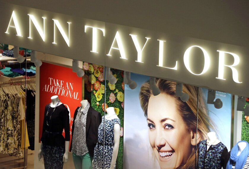 The operator of Ann Taylor and Lane Bryant filed for Chapter 11 bankruptcy protection Thursday.