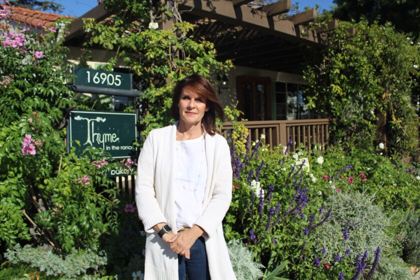 Keely Barrera, the new owner of Thyme in the Ranch.