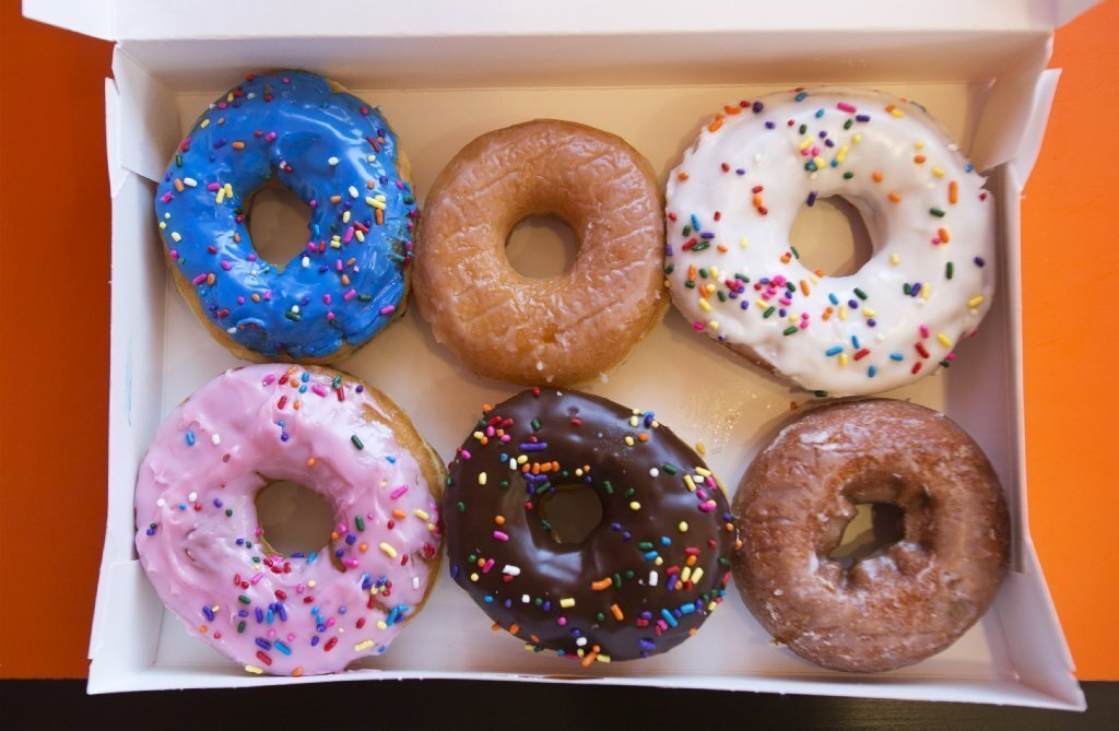Today, June 1, is National Donut Day, so in honor of the beloved fried orbs, we offer this baker's dozen of our favorite doughnuts in San Diego.