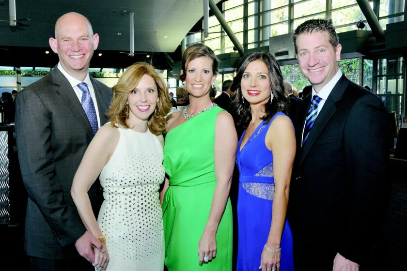 Tony and Karin Toranto, Jennifer Kagnoff, April and Mathew Fink (all are event co-chairs)