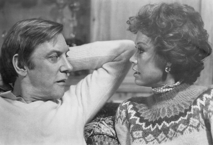 """Donald Sutherland and Mary Tyler Moore in the 1980 film """"Ordinary People,"""" directed by Robert Redford."""