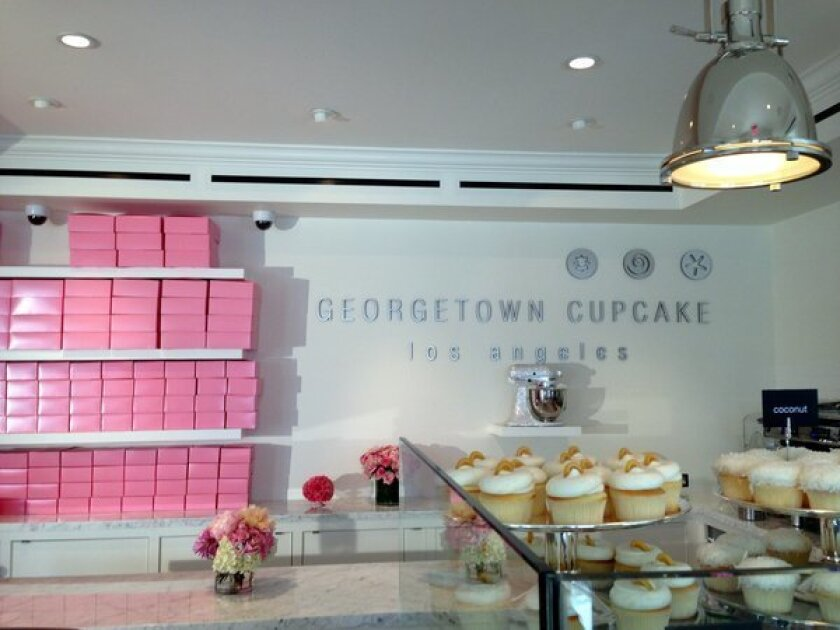 Free cupcakes: Georgetown Cupcake opens on Saturday