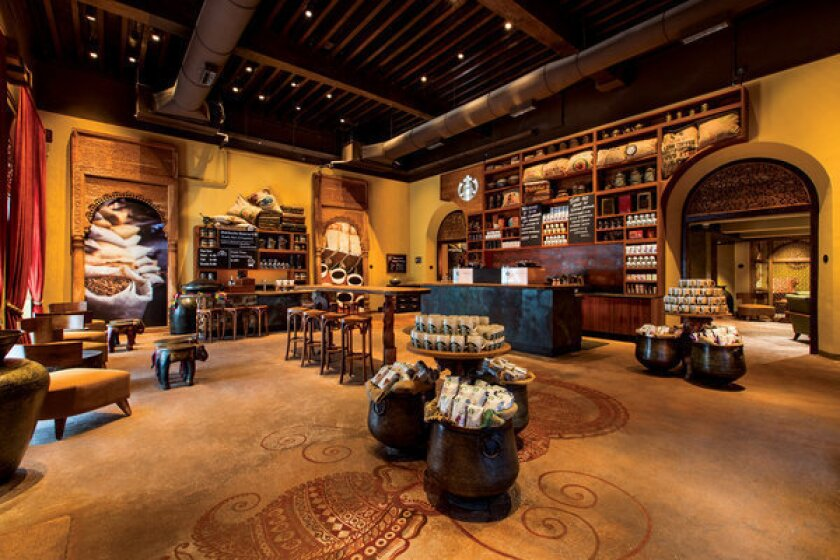 Starbucks Opens First Store In Tea Centric India Los Angeles Times