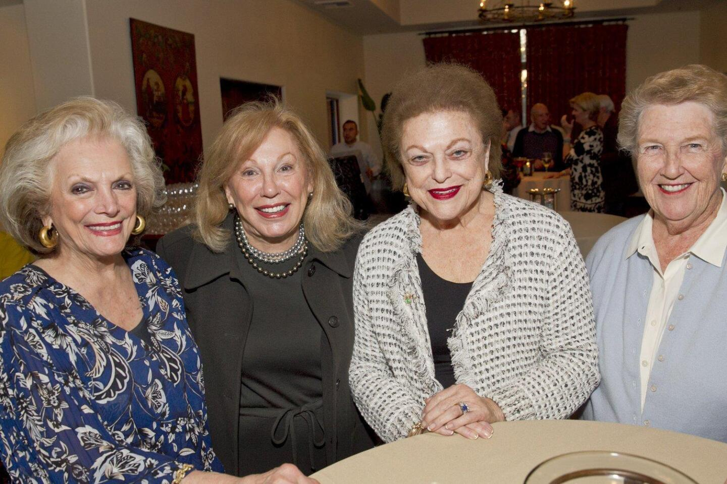 Connie McNally, Colleen Sansone, Georg'Ann Fletcher, Karen Weseloh