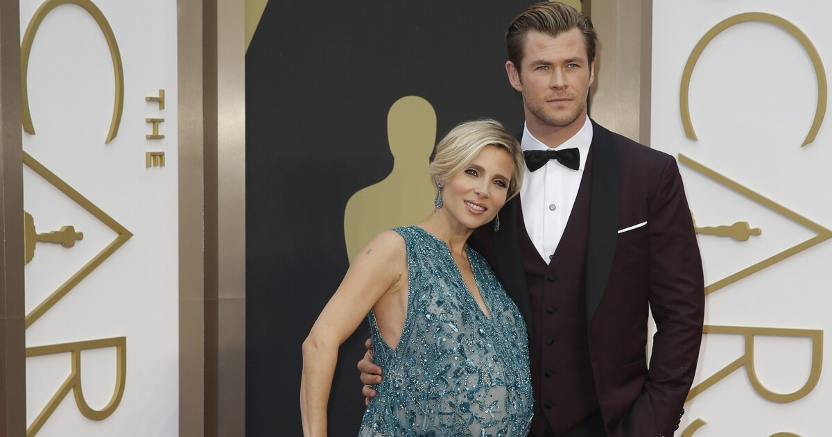 Chris Hemsworth's wife reveals twins' names (Hint: Not ...