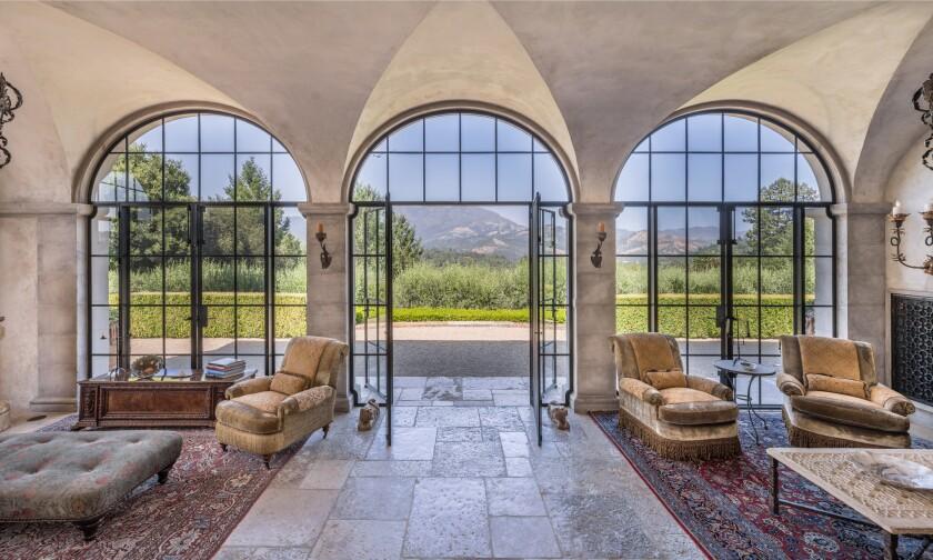 Joe Montana's Calistoga ranch