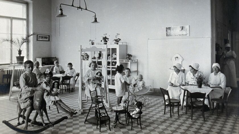 The University of Vienna Children's Hospital in 1921, where Hans Asperger was a child psychiatrist before and during Nazi rule.