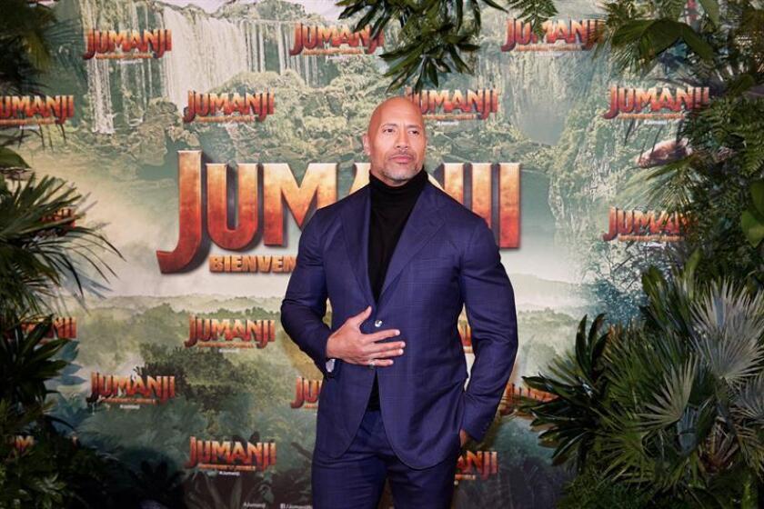 """""""Jumanji: Welcome to the Jungle"""" volvió al número uno de la taquilla al desbancar este fin de semana a """"Maze Runner: The Death Cure"""", según los datos ofrecidos hoy por el portal Box Office Mojo. EFE/Archivo"""
