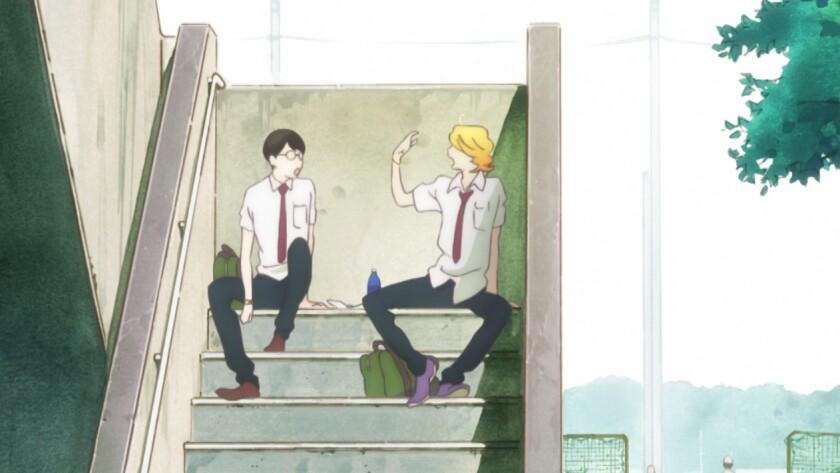 Review: Watercolor-based anime provides romantic escape in 'Doukyusei (Classmates)'