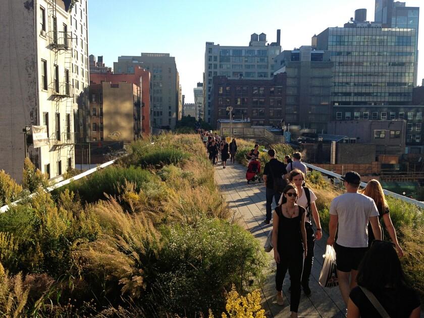 New York's High Line park