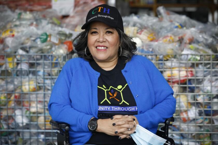 Rosy Vásquez, directora ejecutiva de Community Through Hope.