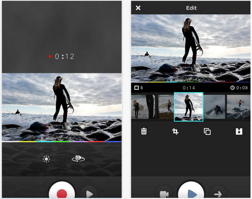 MixBit is an app for short videos that was created by YouTube's co-founders.