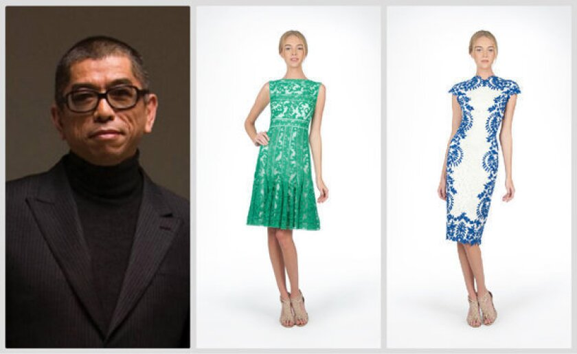 L.A. designer Tadashi Shoji discusses 30 years in the business