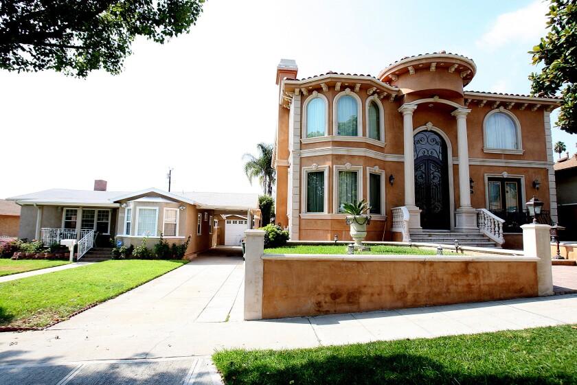 'Mansionized' Burbank home