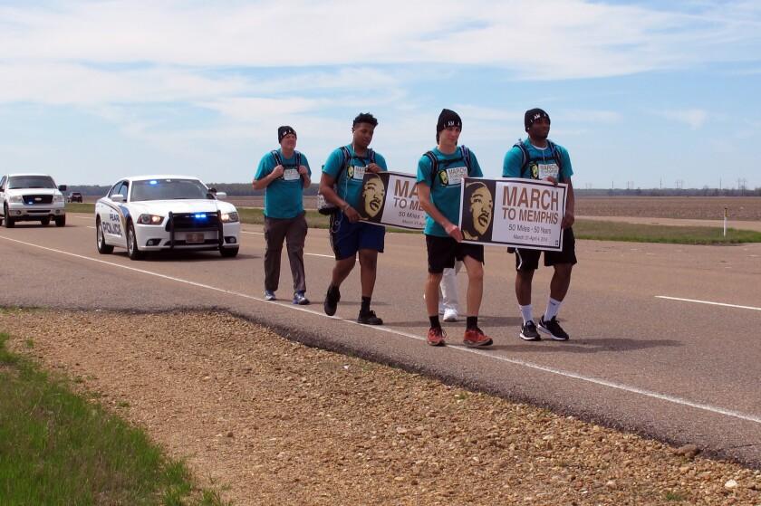 MLK Teens March
