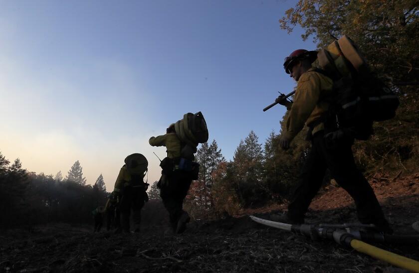 Kincade fire in Sonoma County