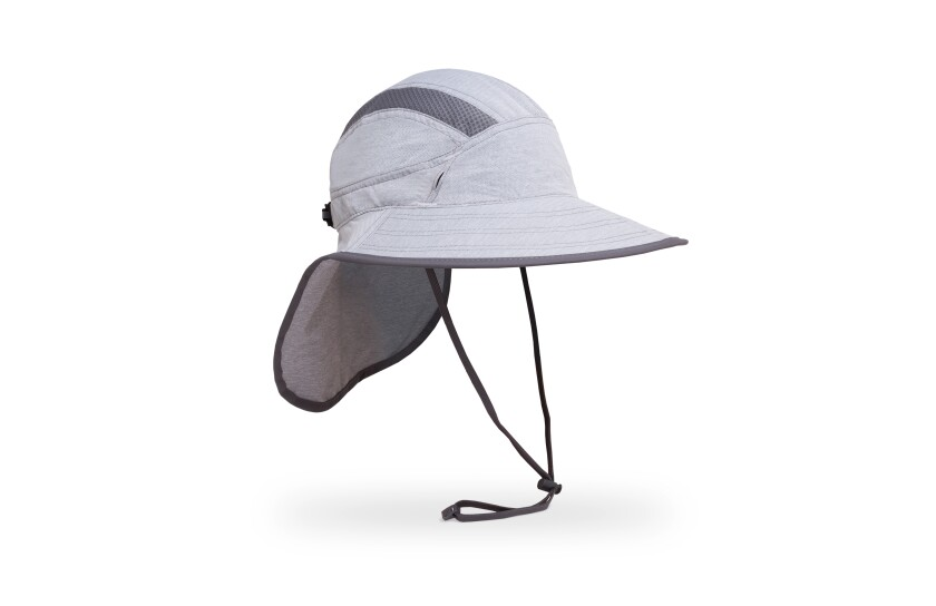 Sunday Afternoons Ultra Adventure nylon sun hat with polyester mesh inserts