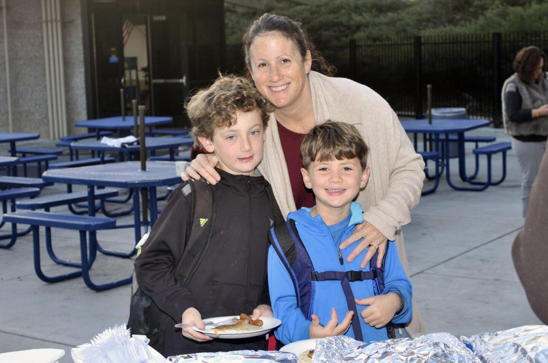 Linda Krauss with Billy and Luke