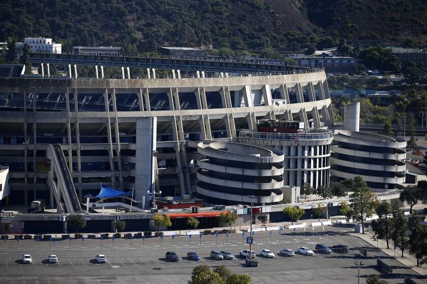 SDCCU Stadium in Mission Valley