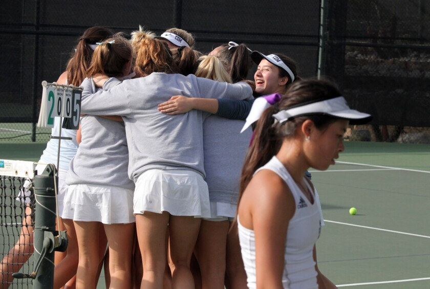 Corona del Mar girls' tennis beats Marlborough to win CIF Division 1 title