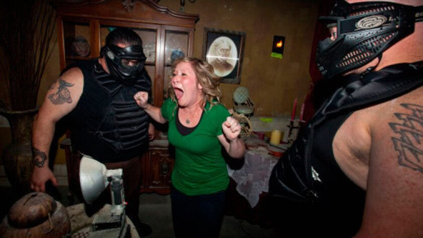 Horror fans pay a premium for extreme haunted mazes