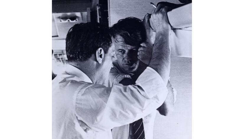 Frank Mankiewicz and Robert Kennedy