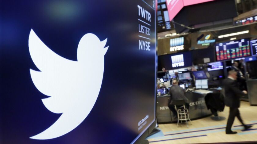 """Twitter has stepped up its effort to purge unwelcome accounts so that """"the conversation on the platform is healthier,"""" Twitter Chief Executive Jack Dorsey told analysts on a conference call Friday."""