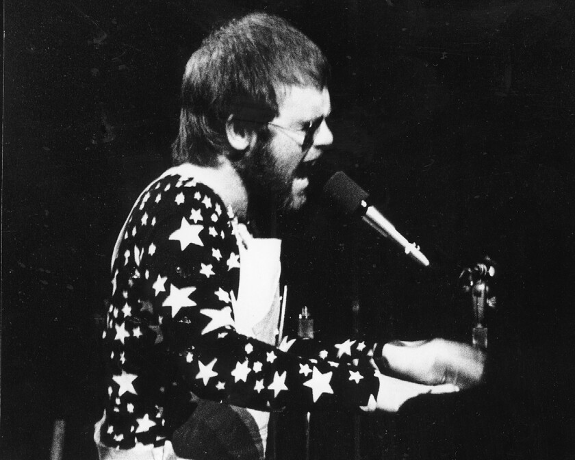 From the Archives: Robert Hilburn's 1970 review of Elton John at ...
