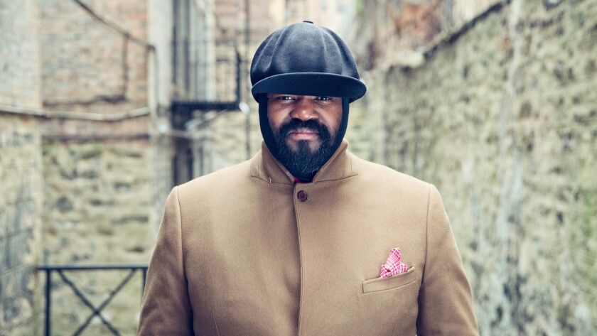 """The new album from Gregory Porter is """"Take Me to the Alley."""""""