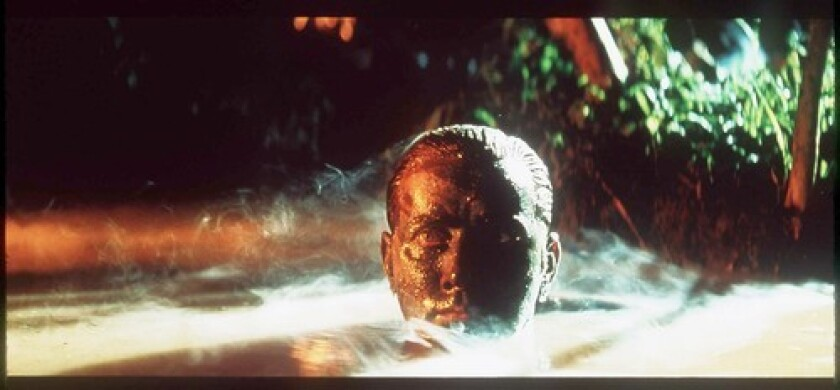 "Martin Sheen in the movie ""Apocalypse Now."""
