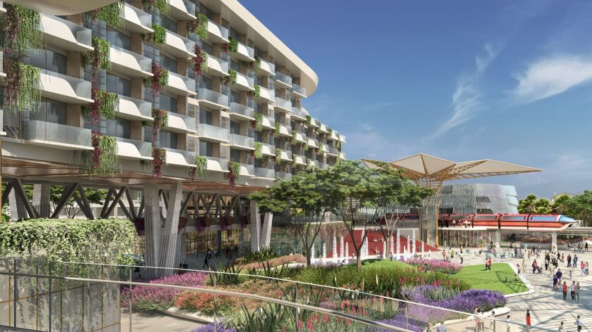 The Walt Disney Co. has pulled the plug on plans to build a new 700-room luxury hotel in Downtown Disney, a retail district near its two Anaheim theme parks.