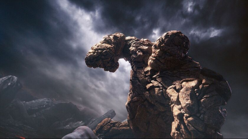 "The Thing, or Ben Grimm, in""Fantastic Four."""