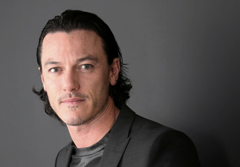 """It will help that Luke Evans can sing if he plays Gaston in Disney's live-action """"Beauty and the Beast"""" movie musical."""