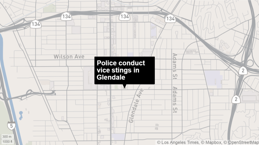 Glendale police arrest six in series of local prostitution