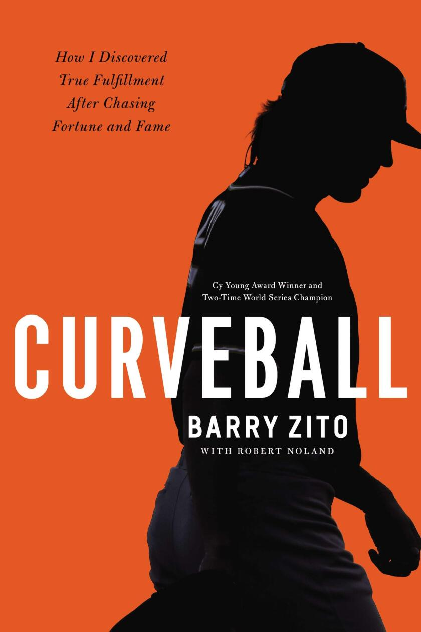 """Cover art for """"Curveball: How I Discovered True Fulfillment After Chasing Fortune and Fame."""""""