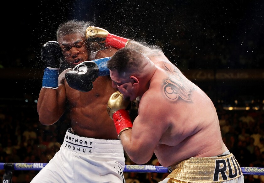 *** 2019 Sport Year in Focus *** Anthony Joshua v Andy Ruiz Jr.