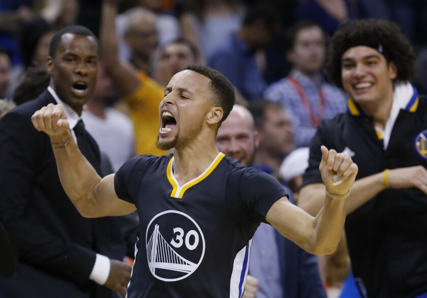 Stephen Curry questionable with sprained ankle