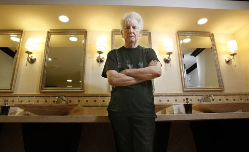 Graham Nash at the US Grant Hotel in San Diego.