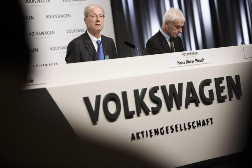 Volkswagen emissions scandal update