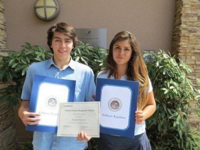 Alex Espinosa and Kalina Quinn